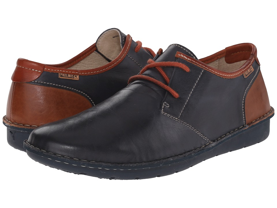 Pikolinos - Santiago M7B-4023 (Navy Blue/Cuero) Men's Shoes