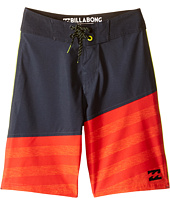 Billabong Kids - Slice A Frame X Boardshorts (Big Kids)