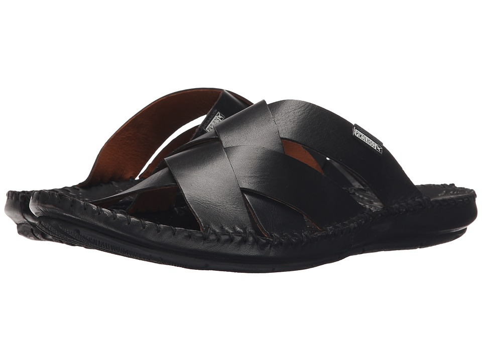 Pikolinos - Tarifa 06J-0015 (Black) Men's Sandals