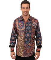 Robert Graham - Hint Of Color Long Sleeve Limited Edition Woven