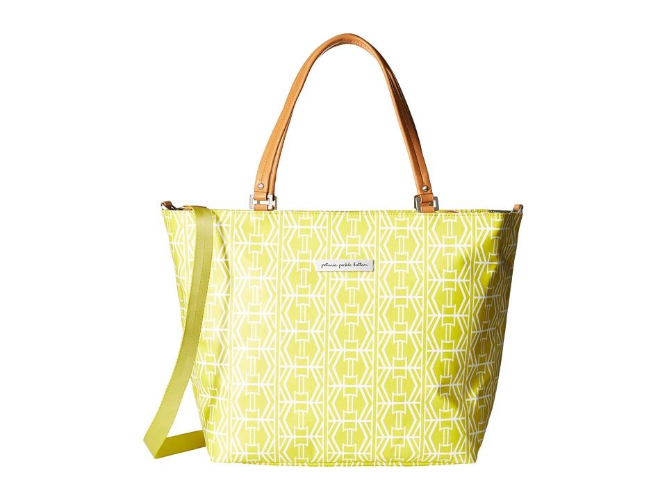 petunia pickle bottom - Glazed Altogether Tote (Electric Citrus) Tote Handbags