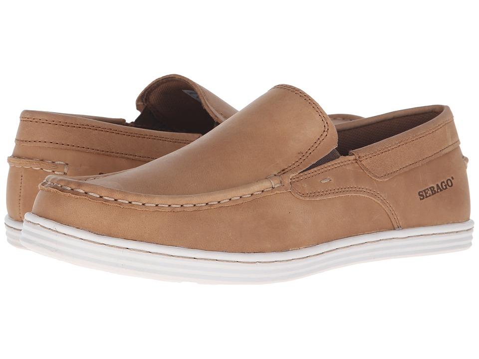 Sebago - Barnet Slip-On (Tan Waxy Leather) Men