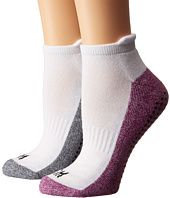Steve Madden - 2-Pack Yoga & Barre Socks with Gripper Sayings
