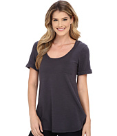 Allen Allen - Slub Short Roll Sleeve Pocket Tee