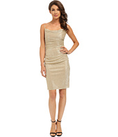 Laundry by Shelli Segal - Skinny Strap Side Shirred Dress
