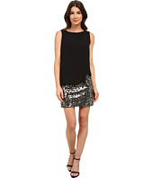 Laundry by Shelli Segal - Sequin Skirt with Georgette Pop Over
