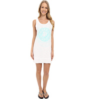 Life is good - High-Low Floral Medallion Elliptical Tank Dress