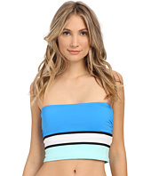 Vince Camuto - Beach Front Bandeau Crop Top w/ Removable Soft Cups