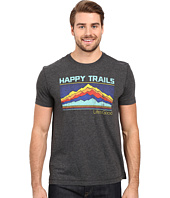 Life is good - Life Is Good Happy Trails Stripe Mountain Cool Tee