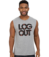 Life is good - Log Out Palms Muscle Tee
