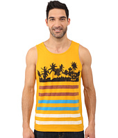 Life is good - LIG Palms And Stripes Surfer Tank