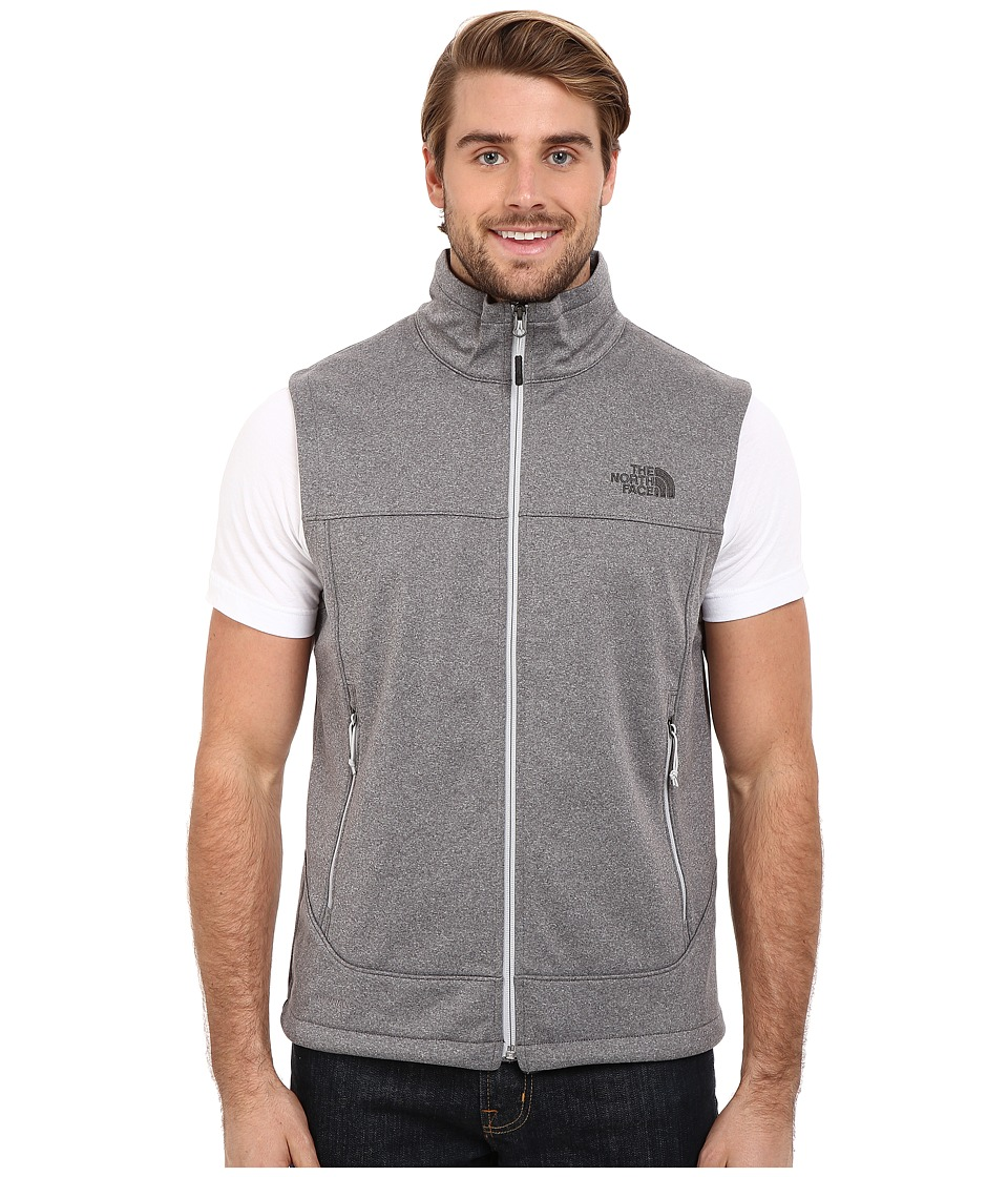 The North Face Canyonwall Vest High Rise Grey Heather Mens Vest