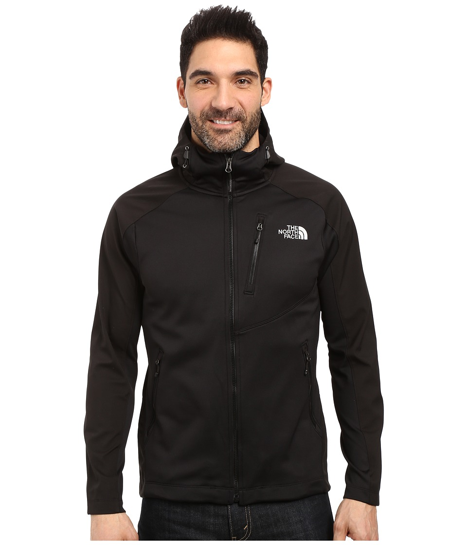 The North Face - Tenacious Hybrid Hoodie (TNF Black/TNF Black) Men