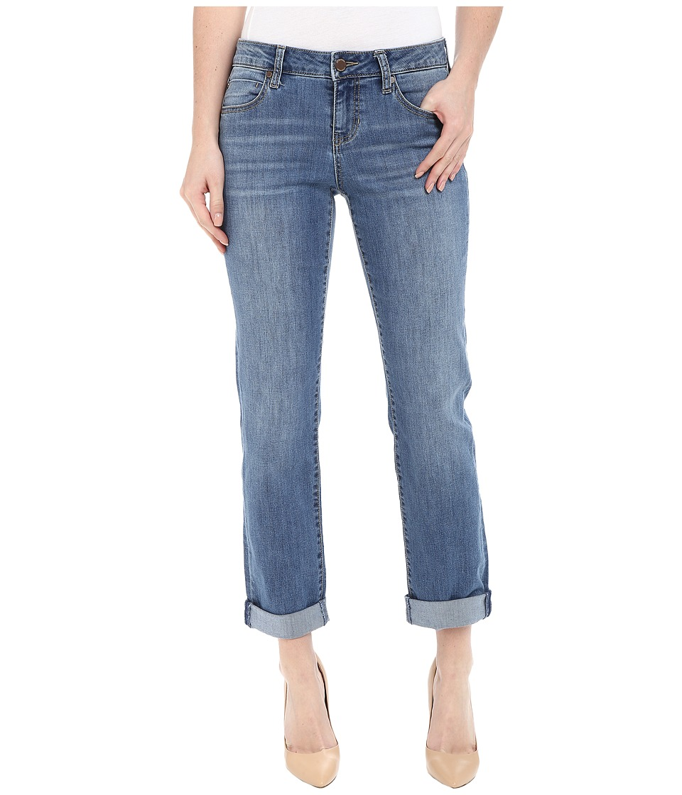 Liverpool - Peyton Slim Boyfriend in Vintage Medium (Vintage Medium) Womens Jeans
