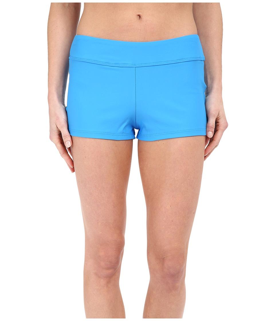 Next by Athena Good Karma Jump Start Swim Shorts Deep Marin Womens Swimwear