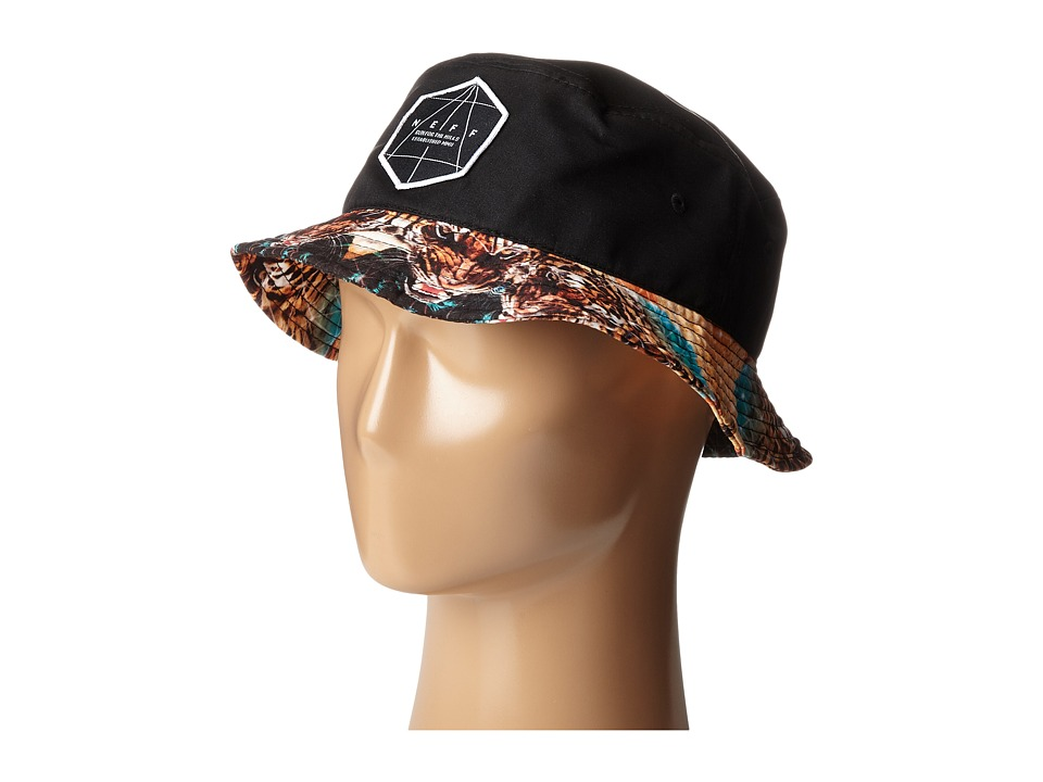 Neff Battlekat Bucket Black Bucket Caps