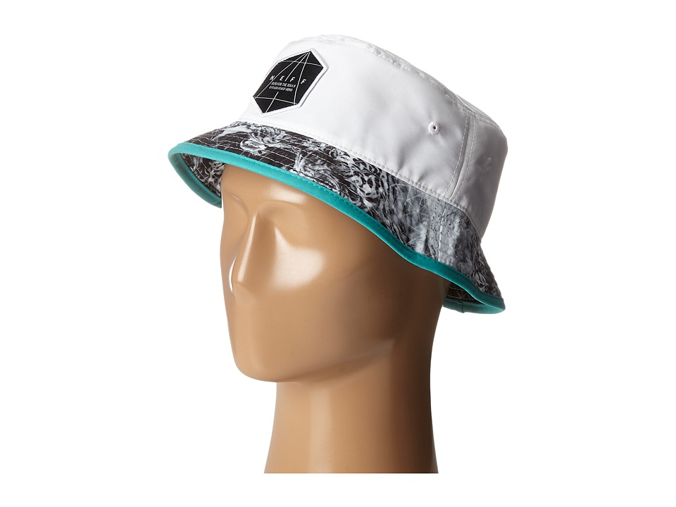 Neff Battlekat Bucket White Bucket Caps
