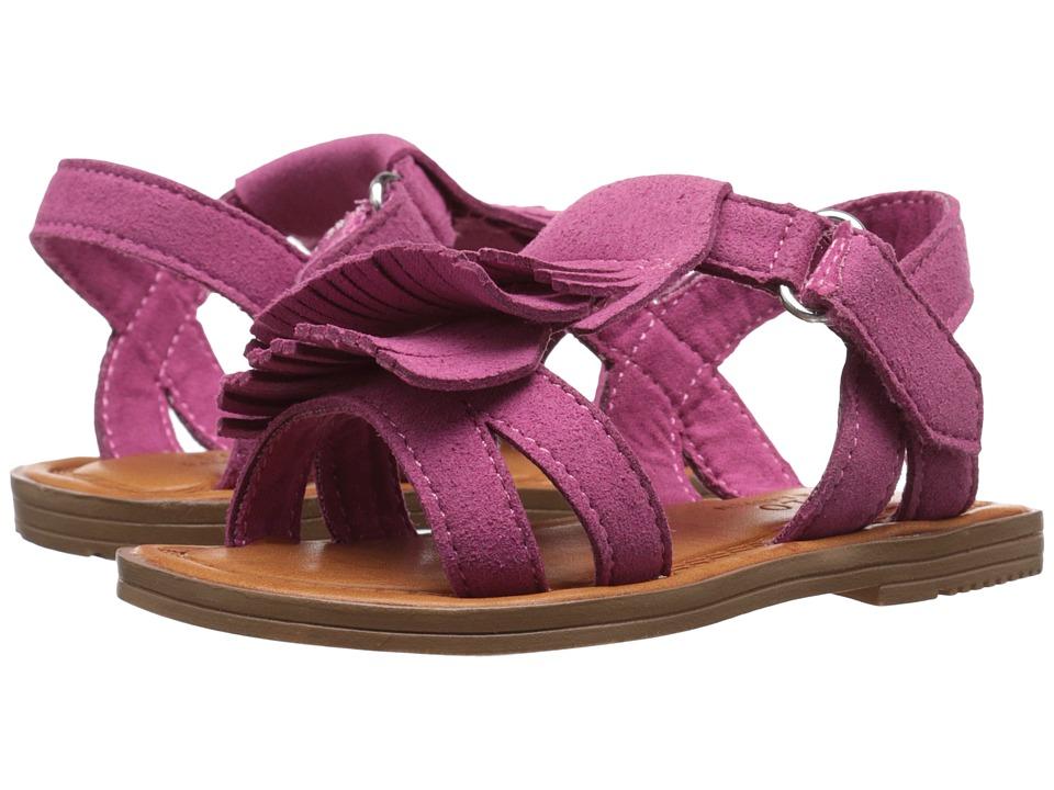 Polo Ralph Lauren Kids Alana Toddler/Little Kid Pink Microfiber Girls Shoes