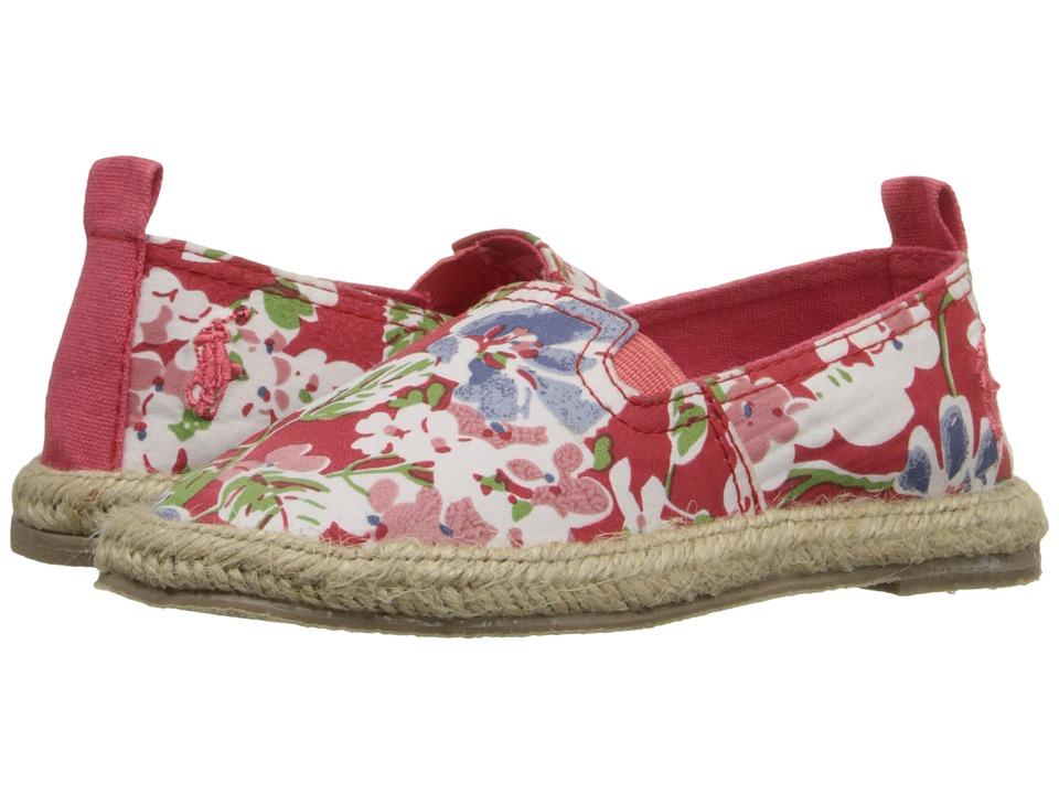 Polo Ralph Lauren Kids Beakon Toddler Coral Mini Floral Girls Shoes