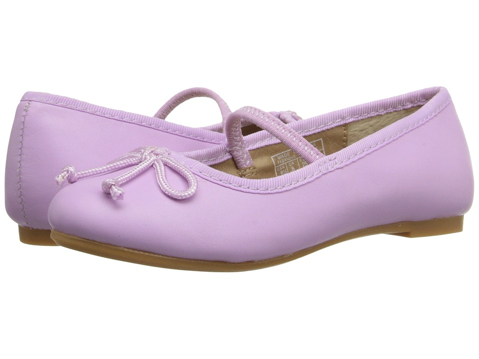 Polo Ralph Lauren Kids Nellie Toddler Orchid Leather Girls Shoes
