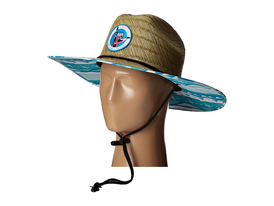 Neff Bae Watch Straw Hat Natural Caps