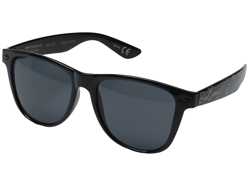 Neff Barts World Daily Shades Black Sport Sunglasses
