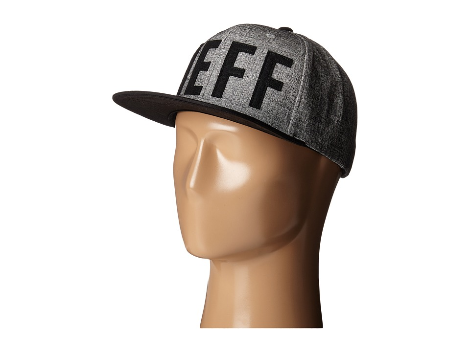Neff Brother Cap Grey/Black Baseball Caps