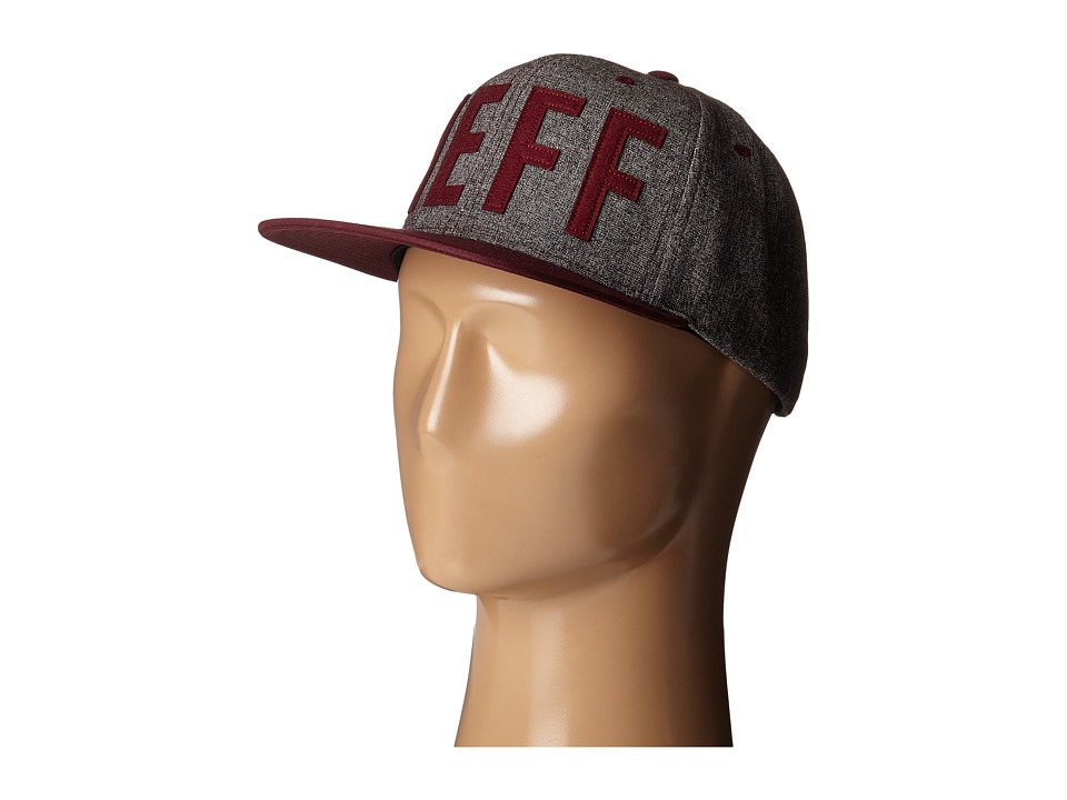 Neff Brother Cap Maroon Baseball Caps