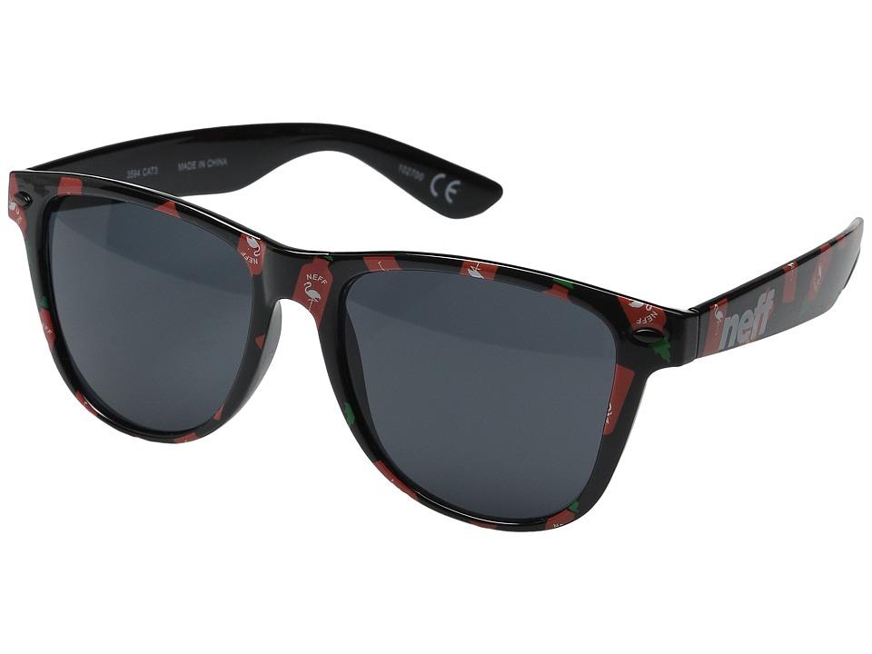Neff Daily Shades Hot Sauce Sport Sunglasses