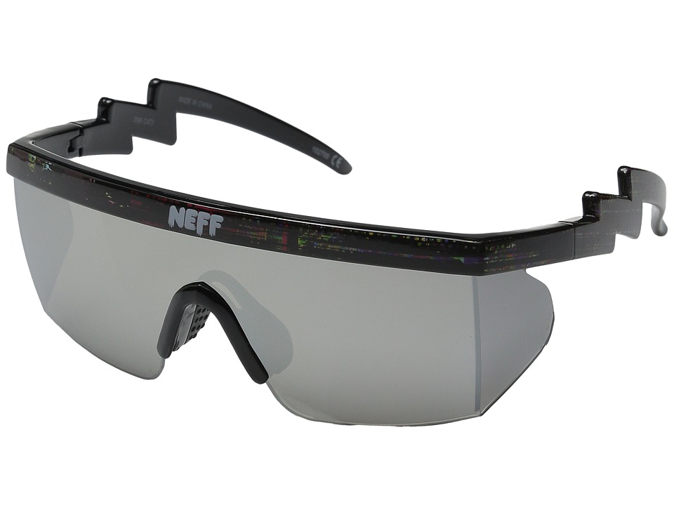 Neff Brodie Shades Black Static Sport Sunglasses