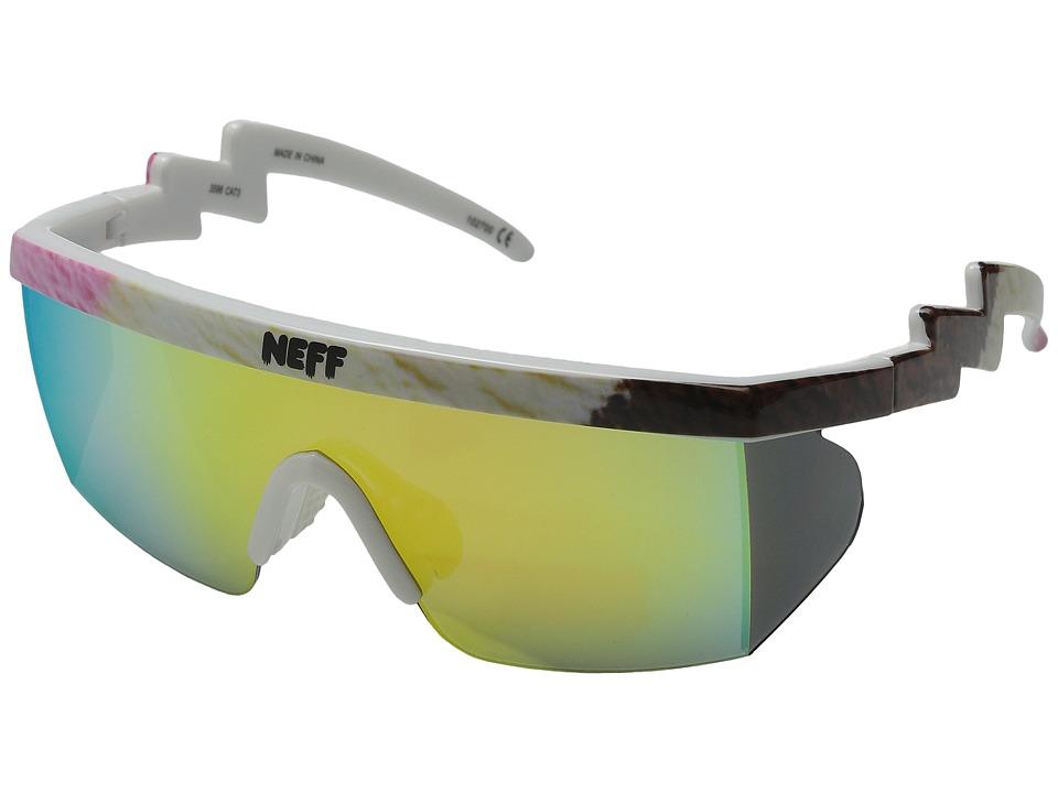 Neff Brodie Shades Neopolitan Sport Sunglasses