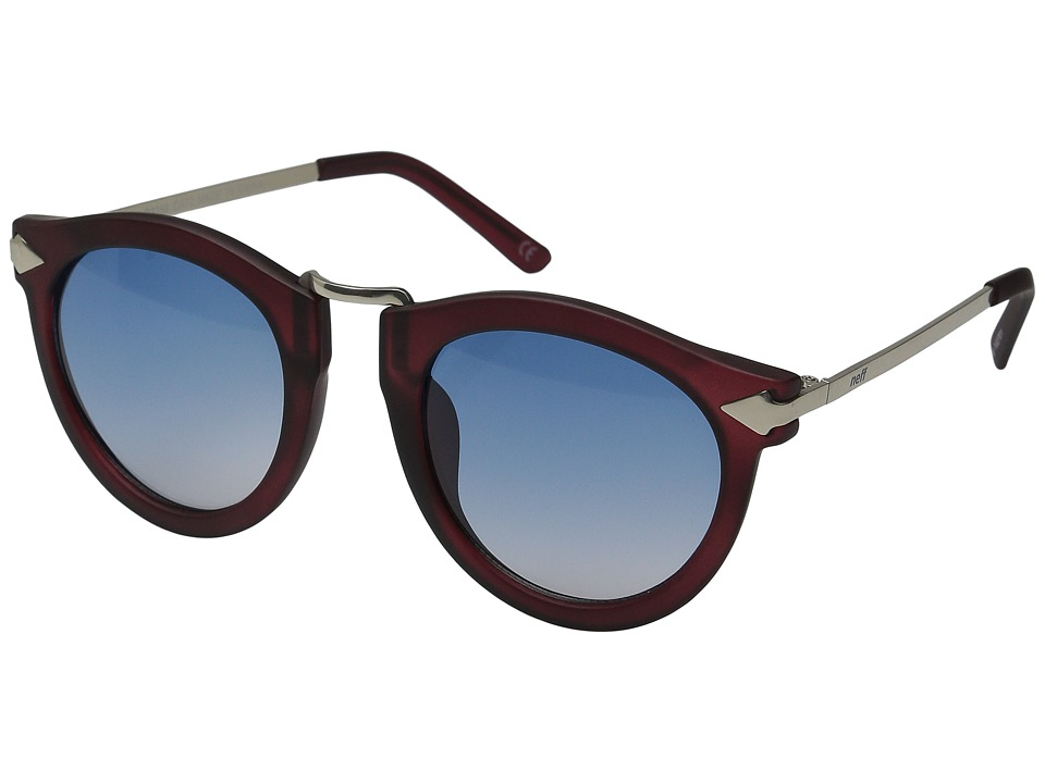 Neff Sweep Shades Maroon Sport Sunglasses