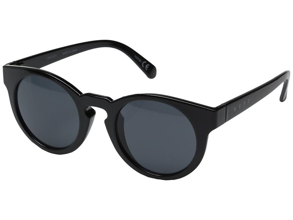 Neff Oswald Shades Black Sport Sunglasses