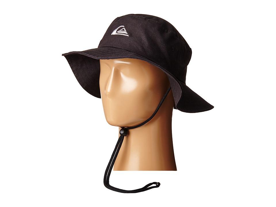 Quiksilver Bushmaster Hat Black Caps
