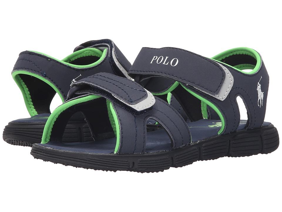 Polo Ralph Lauren Kids Brody Big Kid Navy Sportbuck Boys Shoes
