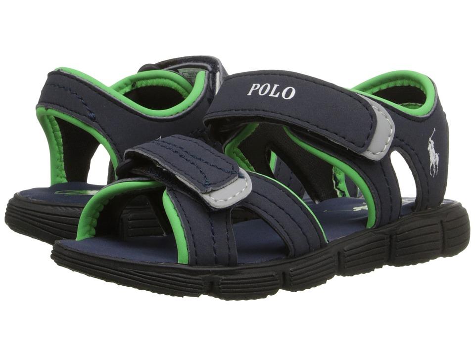 Polo Ralph Lauren Kids - Brody (Toddler) (Navy Sportbuck) Boys Shoes