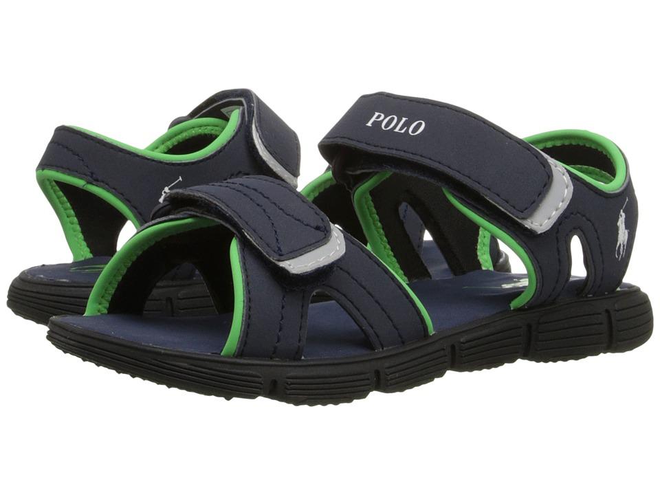 Polo Ralph Lauren Kids Brody Little Kid Navy Sportbuck Boys Shoes