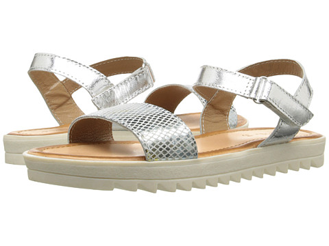 Pazitos Pretty Kool Sandal (Little Kid/Big Kid) - Snake Silver
