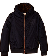 IKKS - Ultra Soft Hooded Jacket with Faux Fur Lining (Little Kids/Big Kids)
