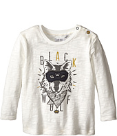 IKKS - Long Sleeve Tee with Wolf Graphic (Infant/Toddler)