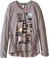 Billabong Kids - Its Happening Long Sleeve Knit Top (Little Kids/Big Kids)