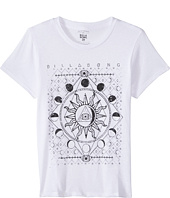 Billabong Kids - Moonlight Gypsy Short Sleeve Boyfriend Tee (Little Kids/Big Kids)