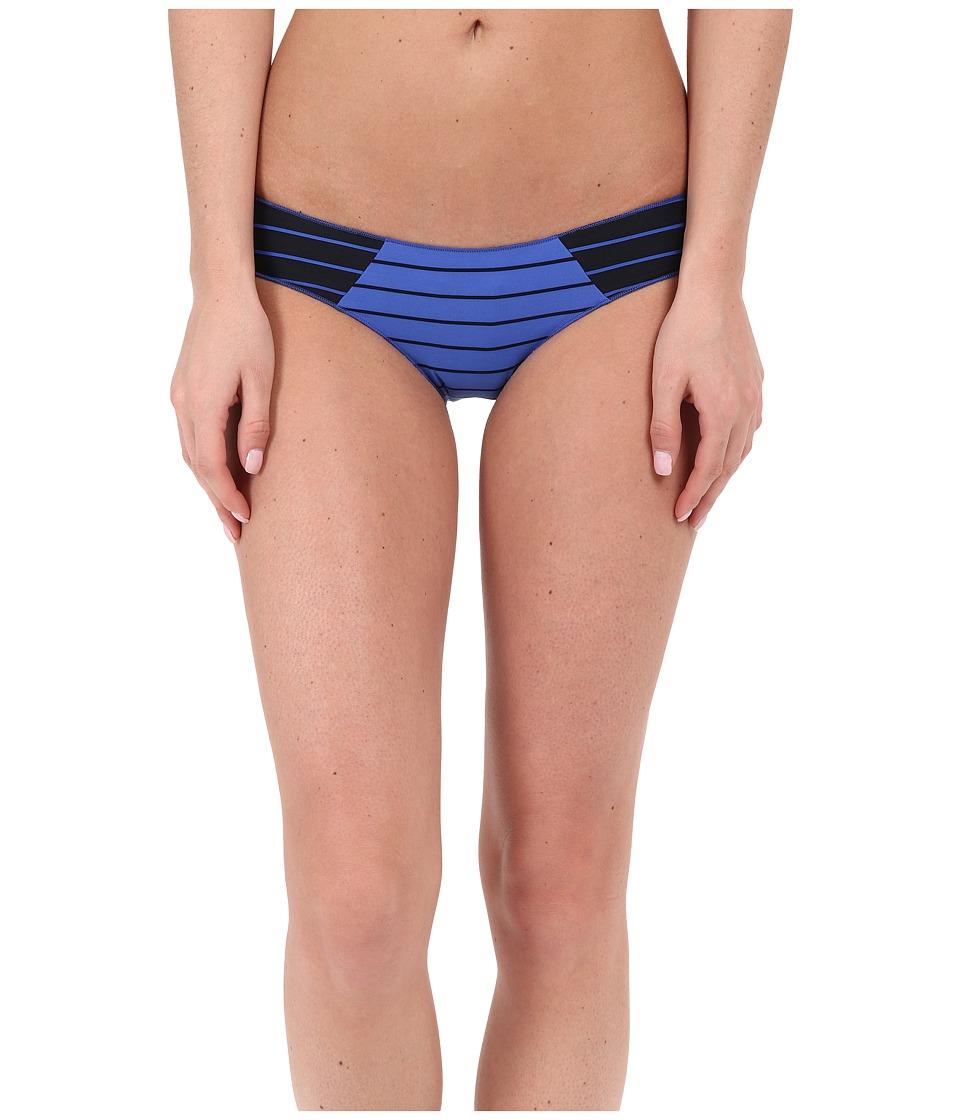 Rip Curl Line Em Up Hipster Bottoms Dazzling Blue Womens Swimwear