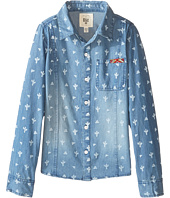 Billabong Kids - Sea the Luv Long Sleeve Button Up Shirt (Little Kids/Big Kids)