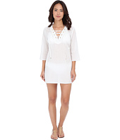 MICHAEL Michael Kors - Solids V-Neck Tunic Cover-Up