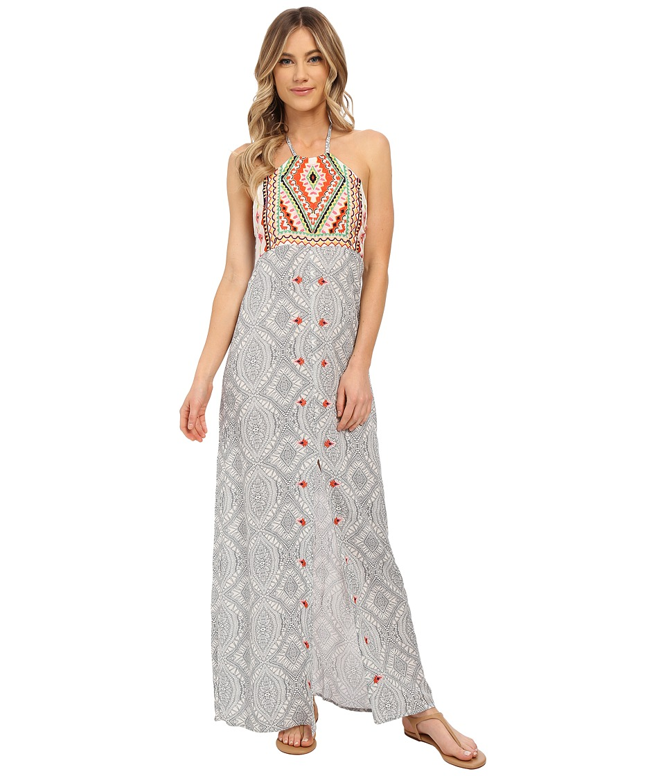 Rip Curl Mayan Sun Maxi Dress Vanilla Womens Dress