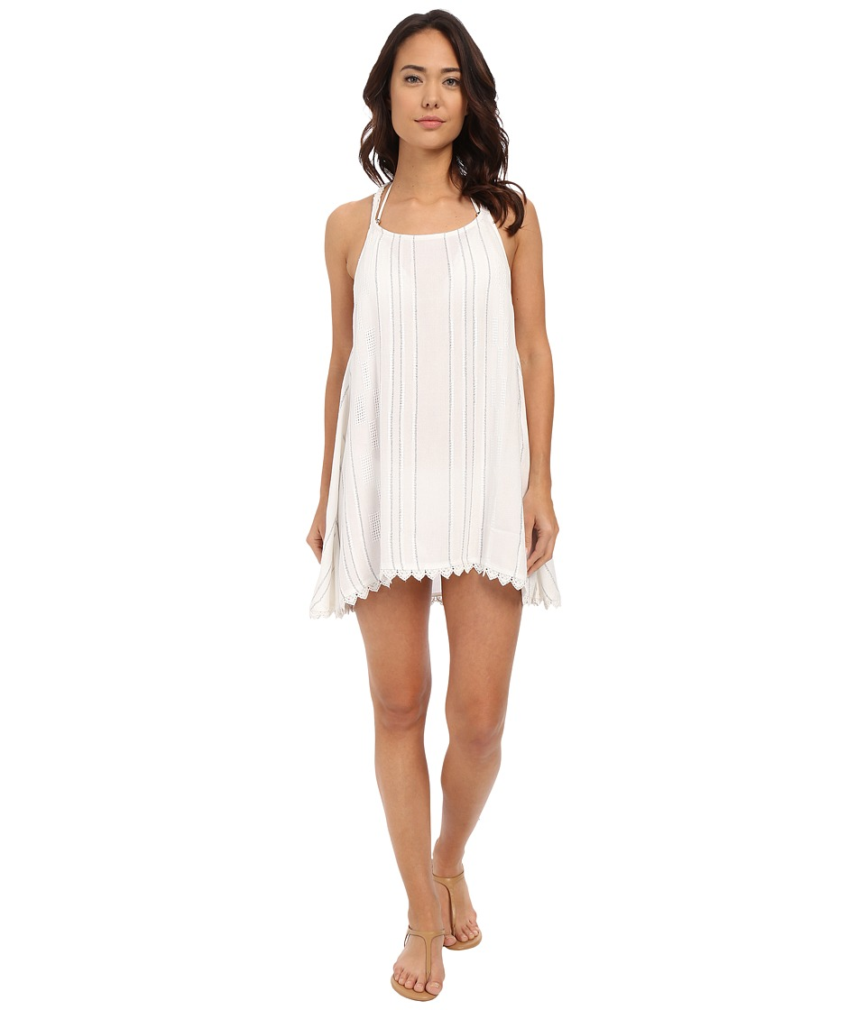 Rip Curl City Lights Cover up White Womens Swimwear