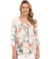 Nally & Millie - Floral V-Neck Tunic