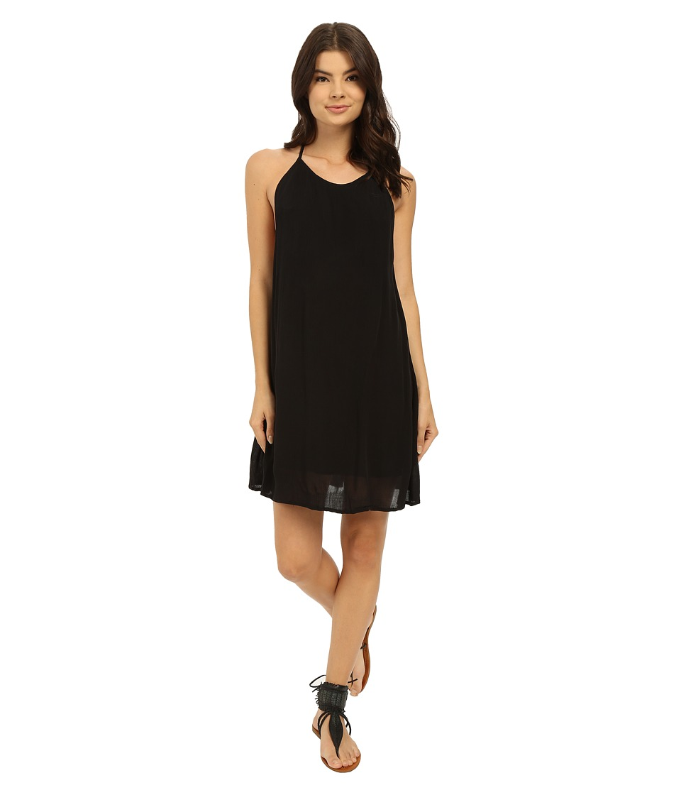 Roxy Passing Sky Solid Dress True Black Womens Dress
