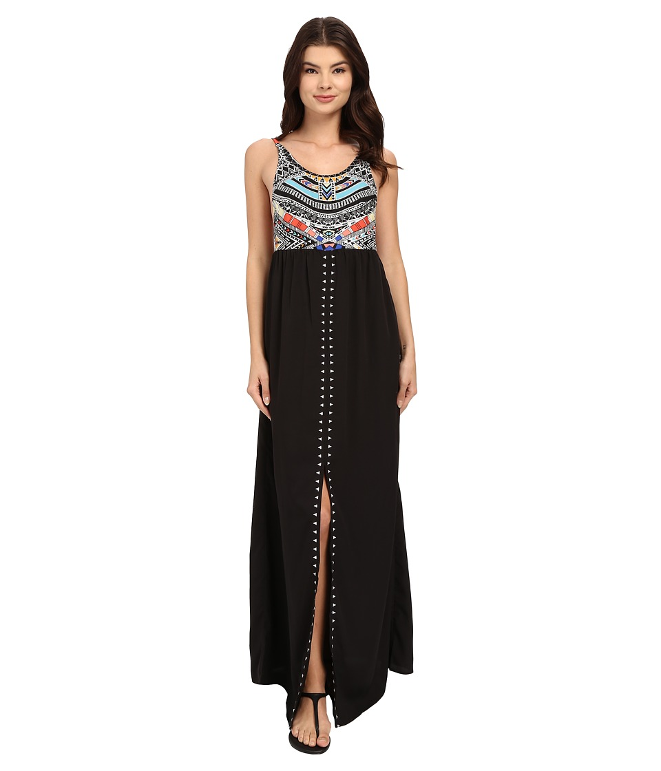 Rip Curl Tribal Myth Maxi Dress Black Womens Dress